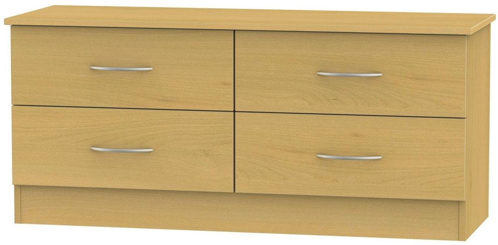 Home 187 wide chests 187 avon beech bed box 4 drawer