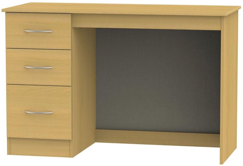 Avon Beech Desk - 3 Drawer