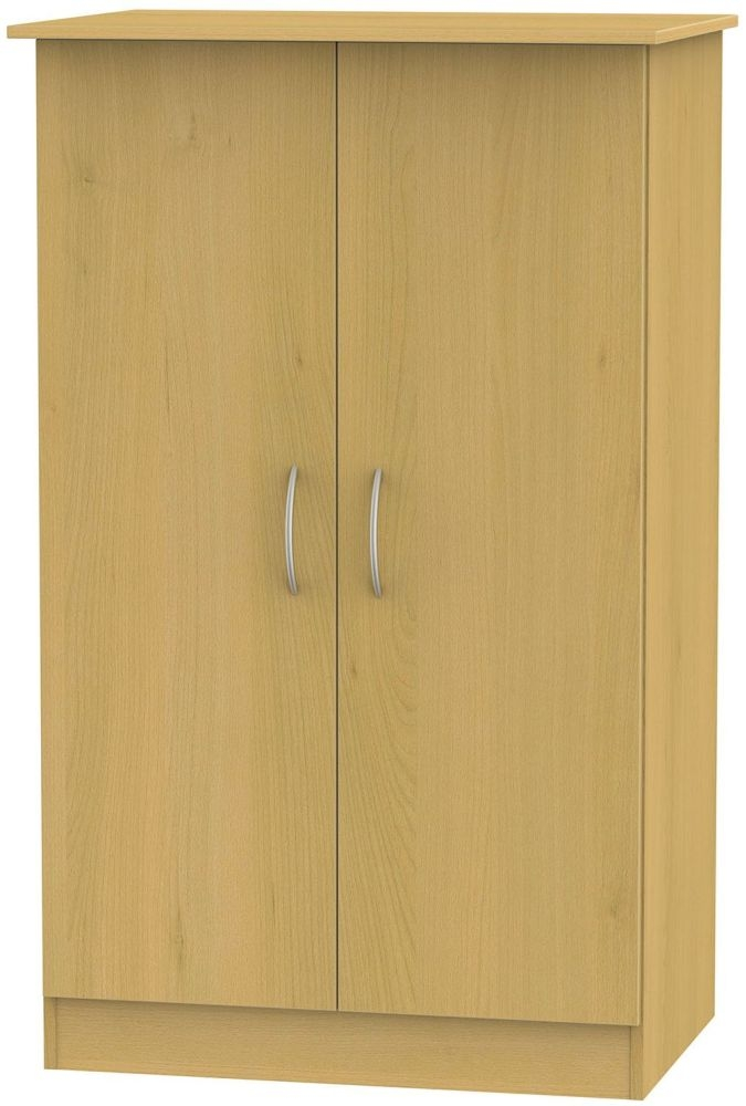 Avon Beech Wardrobe - 2ft 6in Plain Midi