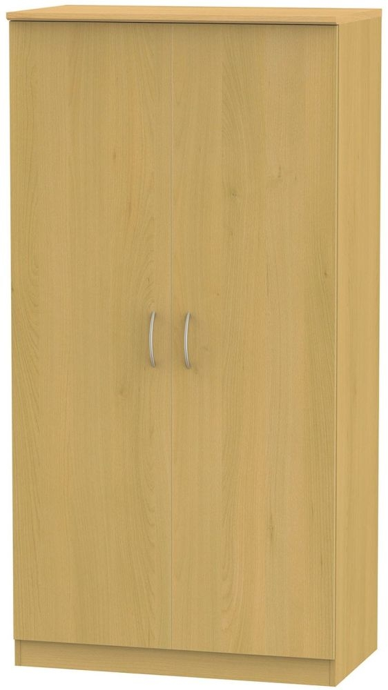 Avon Beech Wardrobe - 3ft Plain