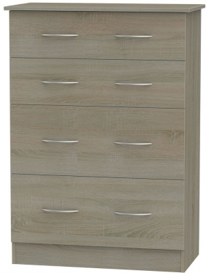 Avon Darkolino Chest of Drawer - 4 Drawer Deep