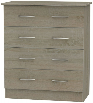 Avon Darkolino Chest of Drawer - 4 Drawer
