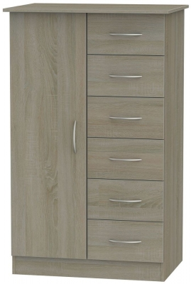 Avon Darkolino 1 Door Children Wardrobe