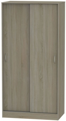 Avon Darkolino 2 Door Sliding Wardrobe