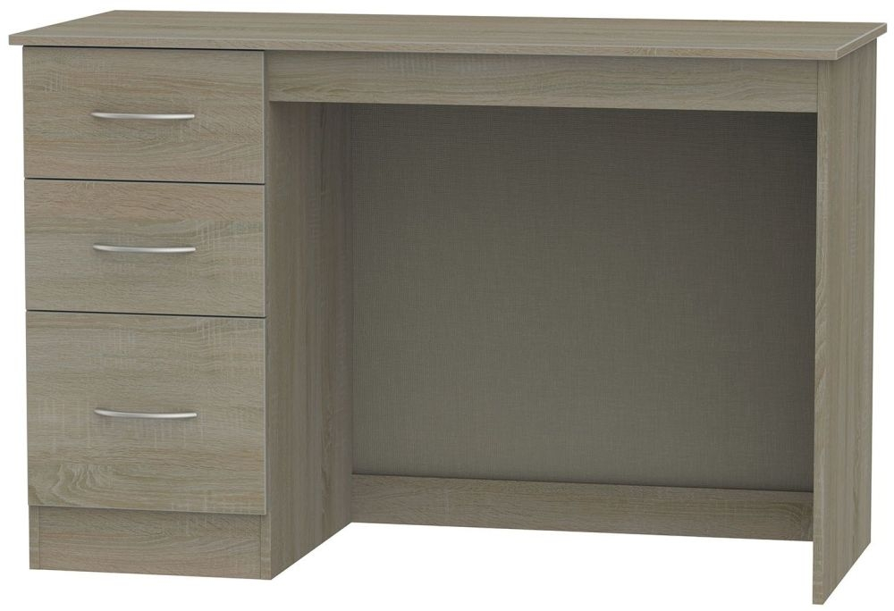 Avon Darkolino Desk - 3 Drawer