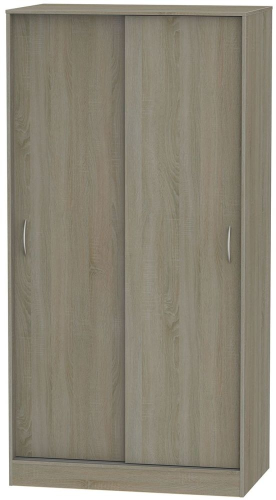 Avon Darkolino Sliding Wardrobe - Wide