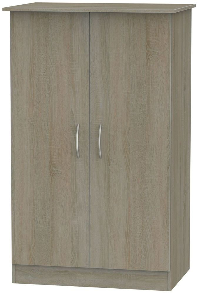 Avon Darkolino 2 Door Midi Wardrobe