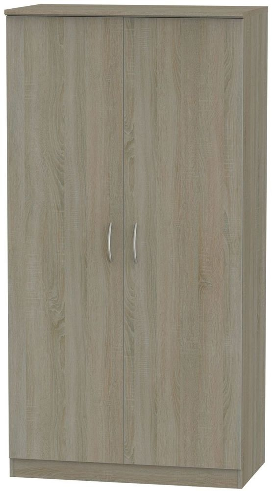 Avon Darkolino 2 Door 3ft Wardrobe