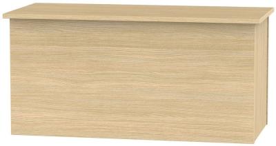 Avon Light Oak Blanket Box