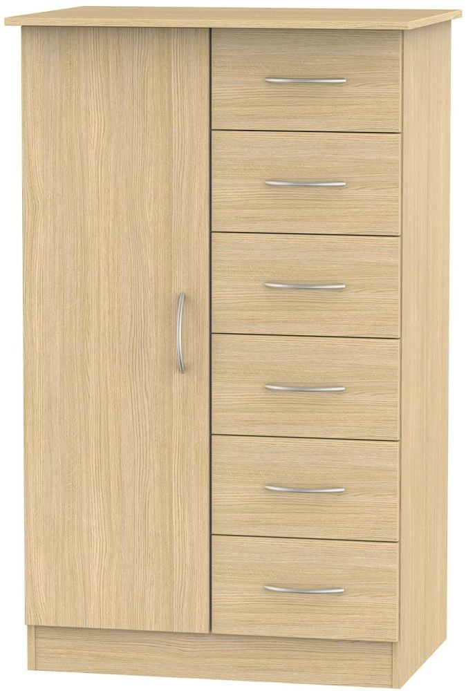 Avon Oak 1 Door Children Wardrobe