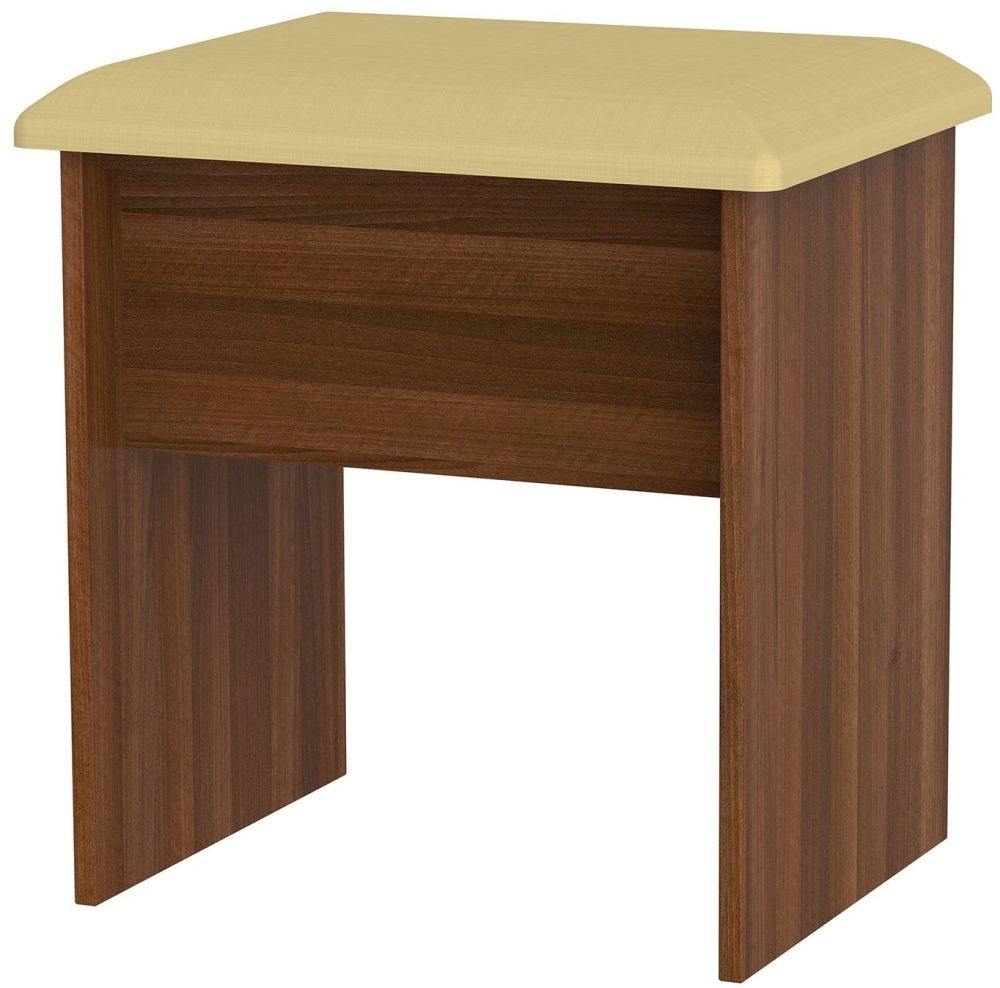 Buy avon noche walnut stool online cfs uk for P furniture and design avon