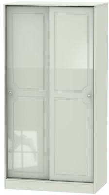 Balmoral High Gloss Kaschmir 2 Door Sliding Wardrobe