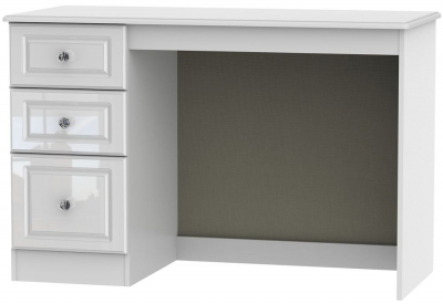 Balmoral High Gloss White Desk