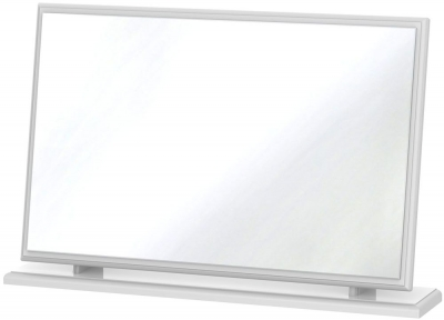 Balmoral White Large Mirror