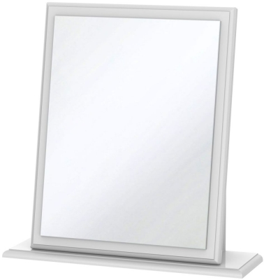 Balmoral White Small Mirror