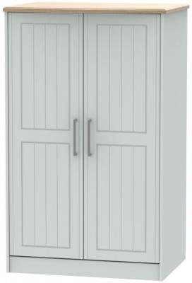 Botany Bay Painted 2 Door Plain Midi Wardrobe
