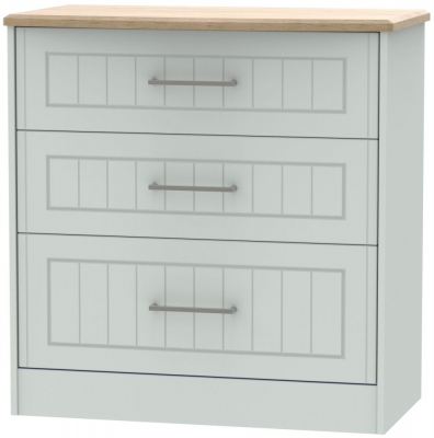 Botany Bay Painted 3 Drawer Deep Chest