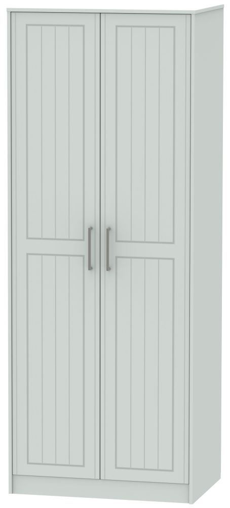 Botany Bay Painted 2 Door Tall Plain Double Wardrobe