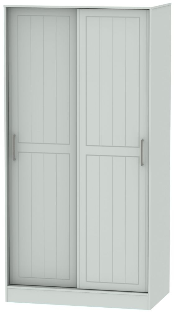 Botany Bay Painted 2 Door Wide Sliding Wardrobe