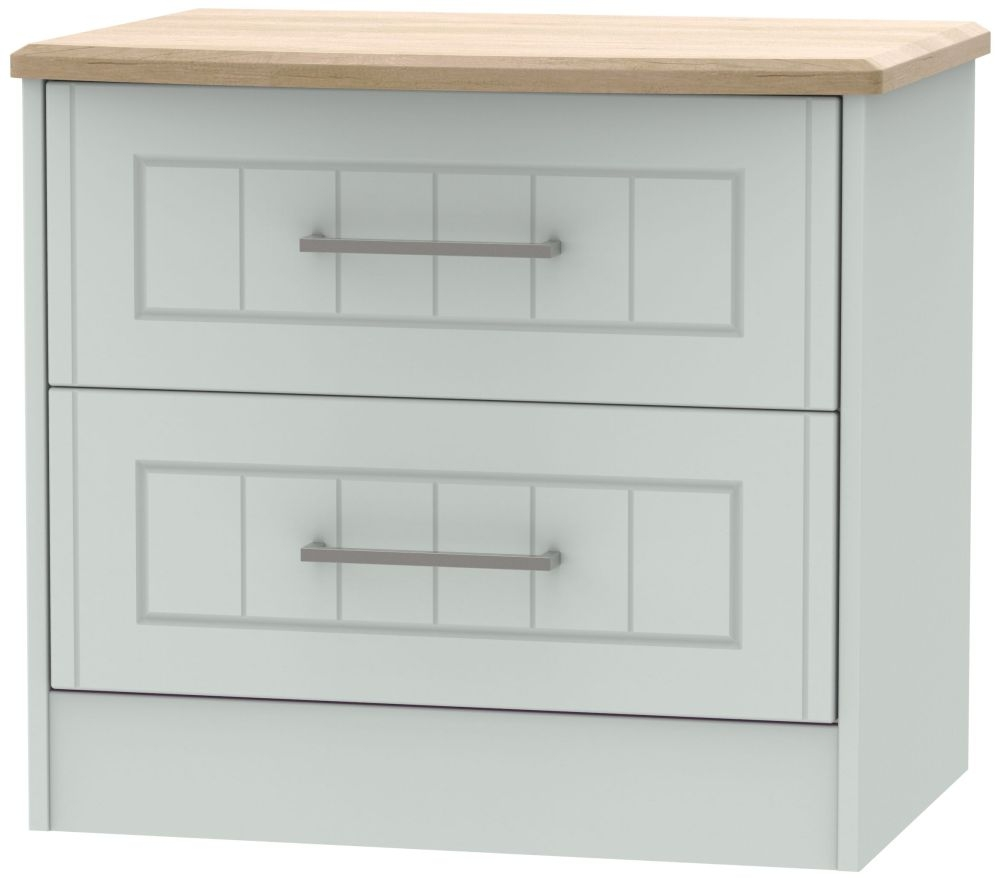 Botany Bay Painted 2 Drawer Midi Chest