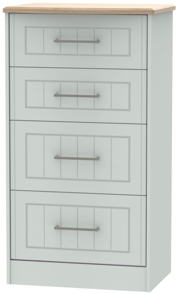 Botany Bay Painted 4 Drawer Midi Chest