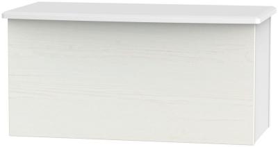 Buckingham Aurello White Blanket Box