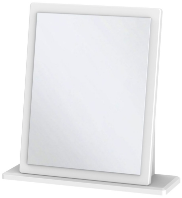 Buckingham Aurello White Small Mirror