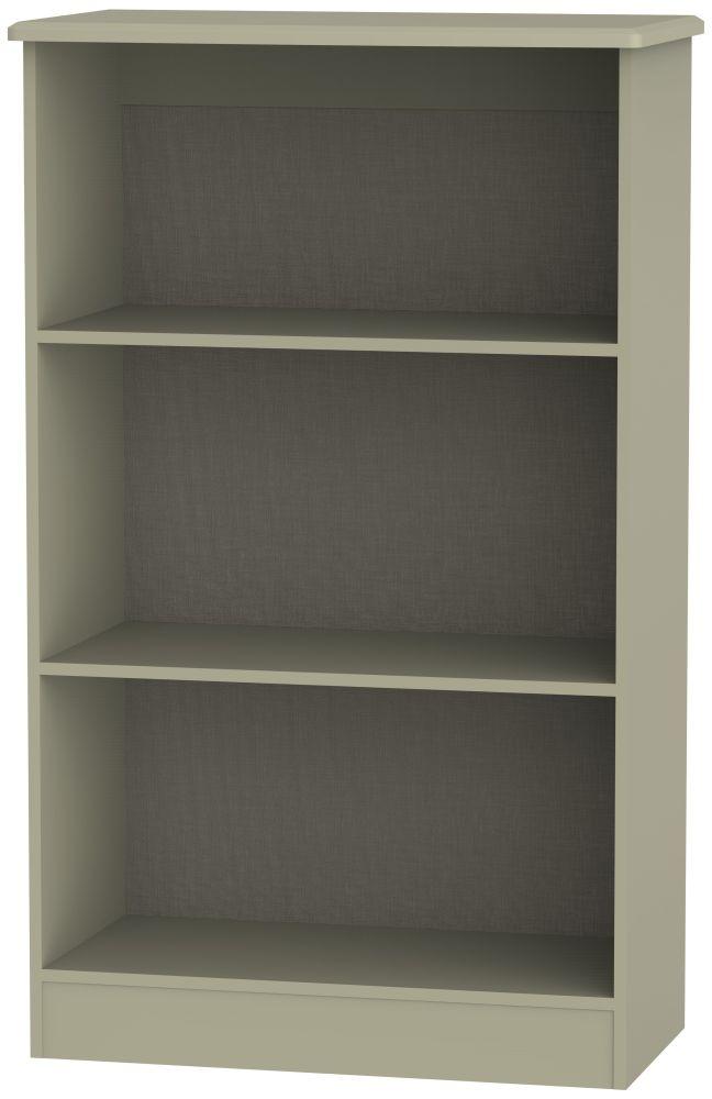 Buckingham Bali Oak Bookcase - 2 Shelves