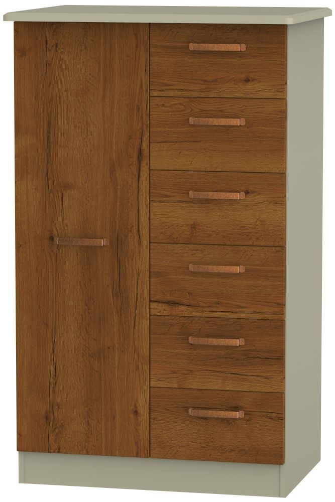 Buckingham Bali Oak Children Wardrobe