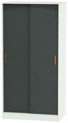 Buckingham Graphite 2 Door Siliding Wardrobe