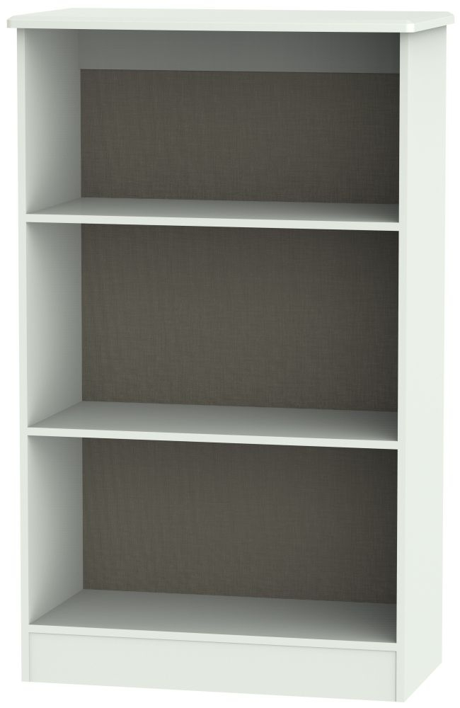 Buckingham Graphite Bookcase - 2 Shelves