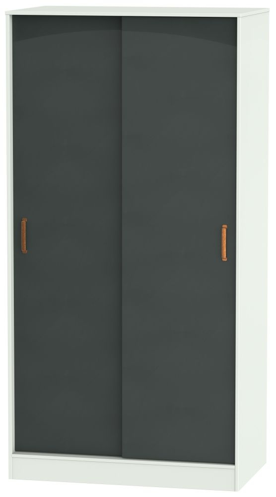 Buckingham Graphite 2 Door Siliding Wardrobe