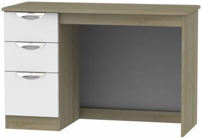 Camden Desk - Grey and Darkolino