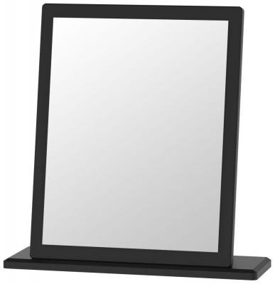 Camden Black Small Mirror