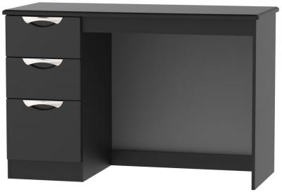 Camden High Gloss Black Desk