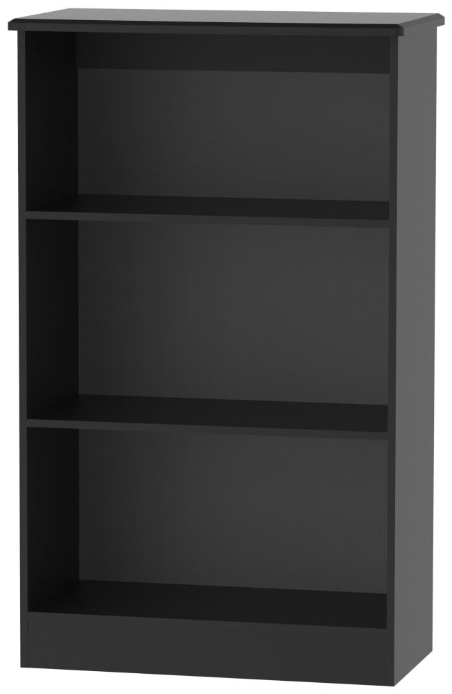 Camden Black Bookcase