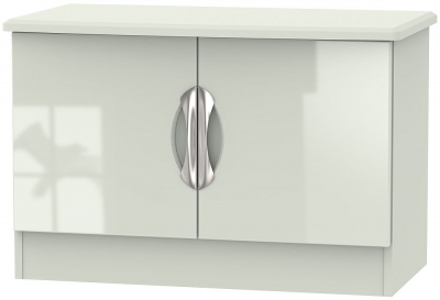 Camden High Gloss Kaschmir 2 Door Low Unit
