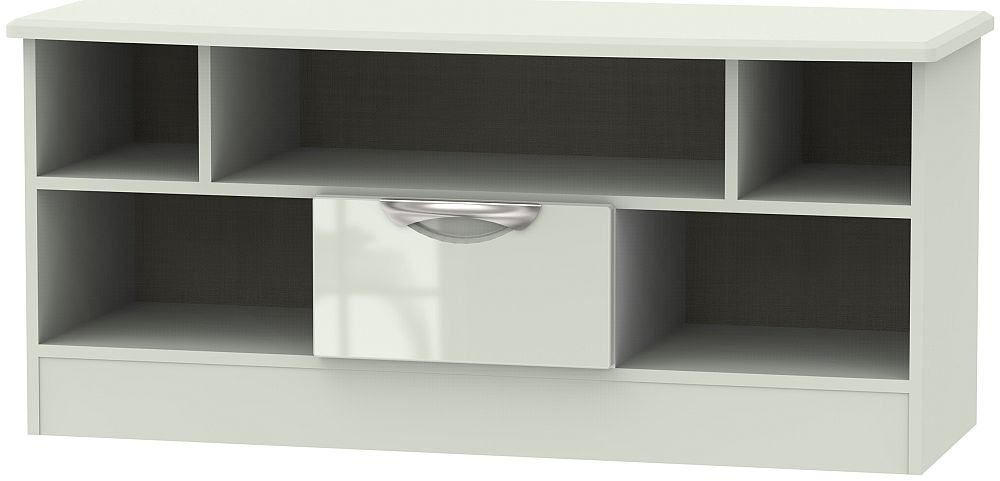 Camden High Gloss Kaschmir 1 Drawer Open TV Unit