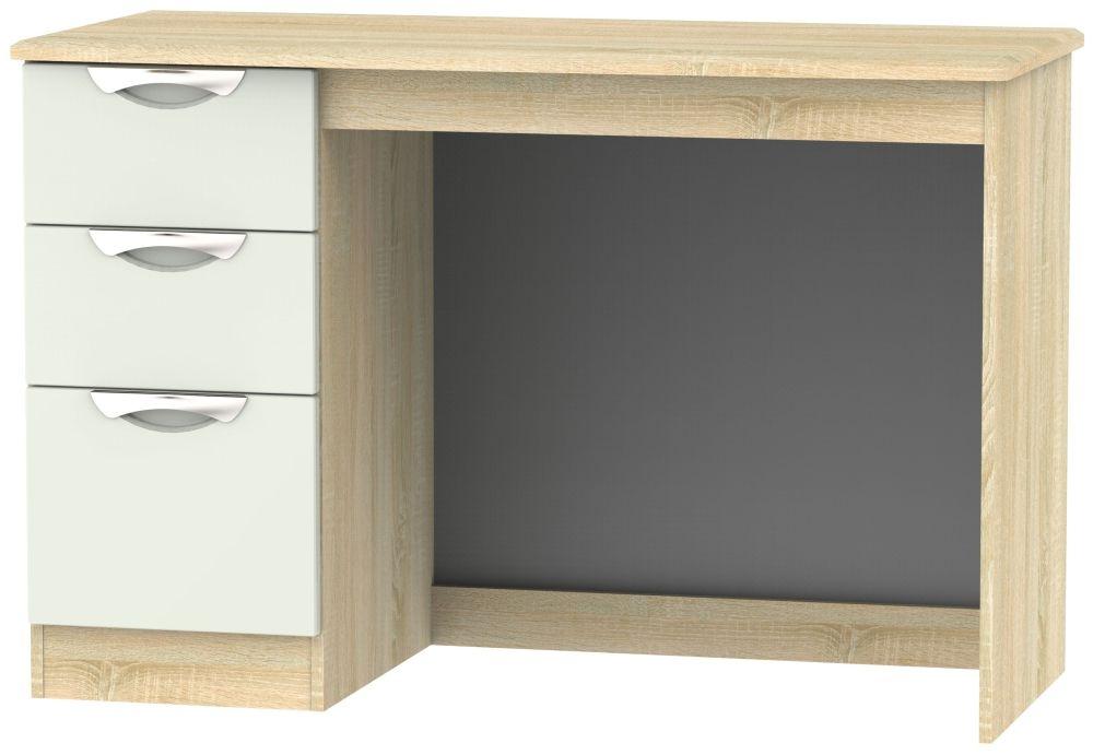Camden Desk - High Gloss Kaschmir and Bardolino