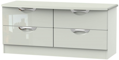 Camden High Gloss Kaschmir 4 Drawer Bed Box