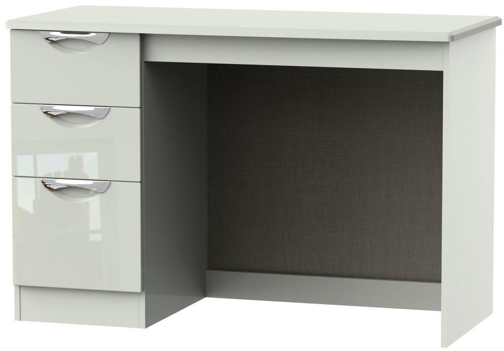 Camden High Gloss Kaschmir 3 Drawer Desk