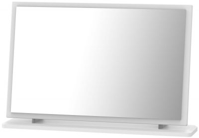 Camden White Large Mirror