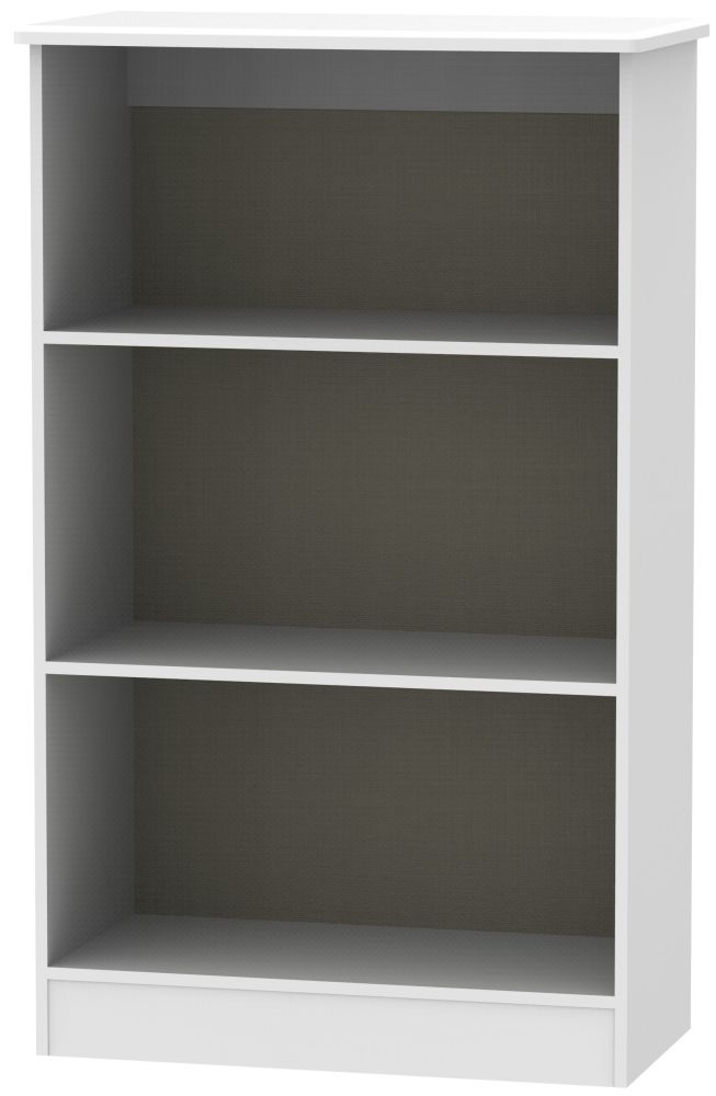 Camden White Bookcase