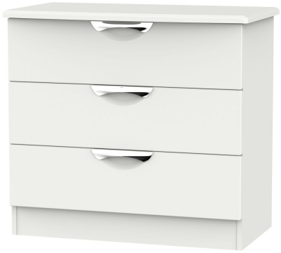 Camden Light Grey 3 Drawer Chest