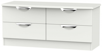 Camden Light Grey 4 Drawer Bed Box