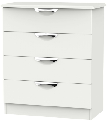 Camden Light Grey 4 Drawer Chest