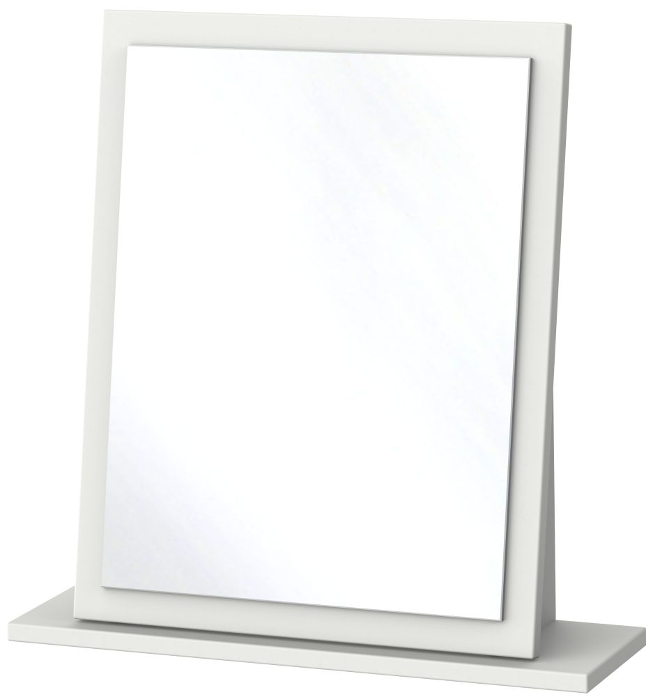 Camden Light Grey Small Mirror