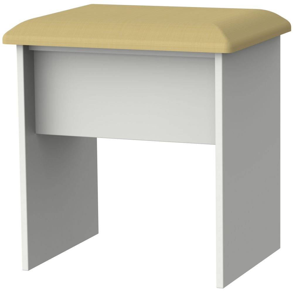 Camden Light Grey Stool