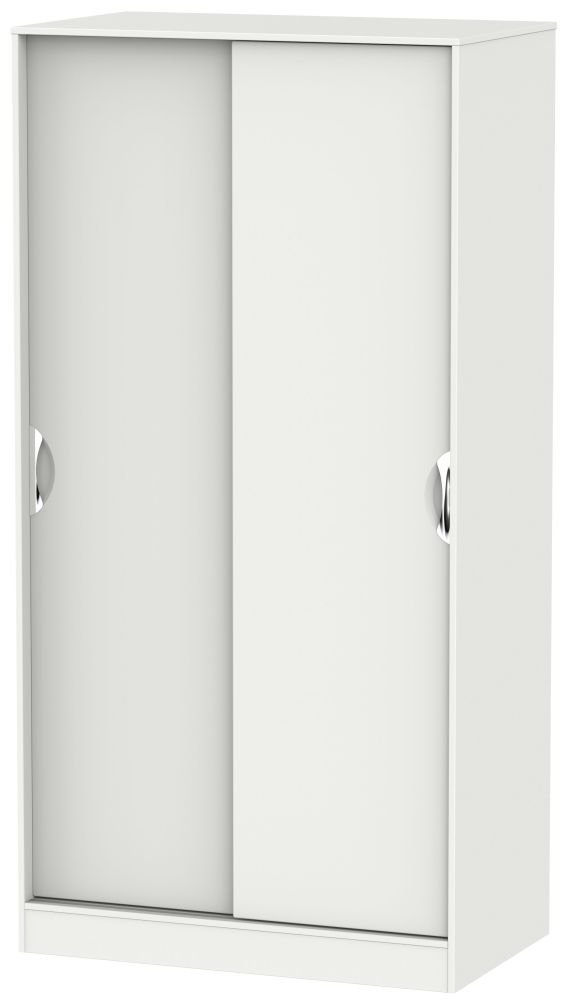 Camden Light Grey 2 Door Sliding Wardrobe