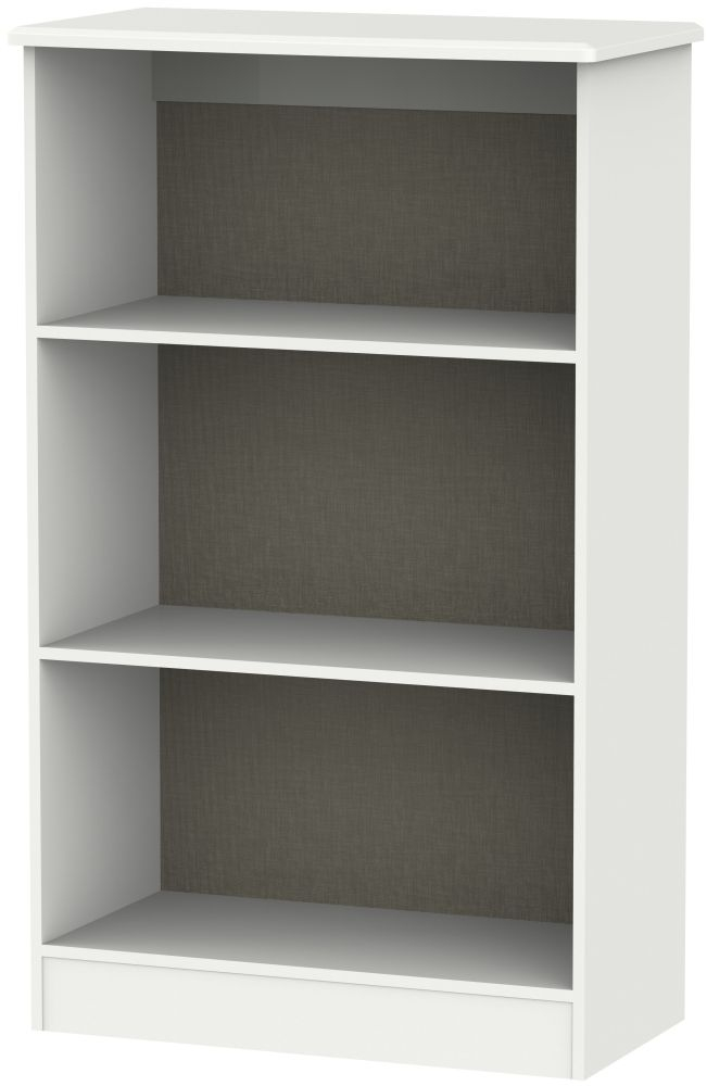 Camden Light Grey Bookcase